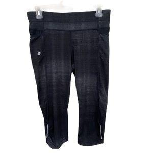Athleta Capri legging pockets training pants small